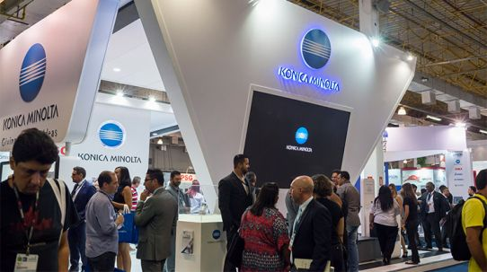 Konica Minolta lança AccurioPRESS C2070P no Brasil dentro da ExpoPrint Digital
