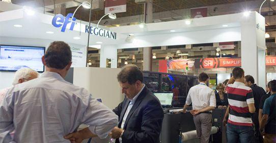 EFI aborda impressão têxtil e software na FESPA Brasil / ExpoPrint Digital
