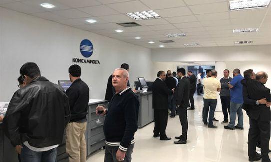Konica Minolta inaugura estrutura de sua filial no sul do país