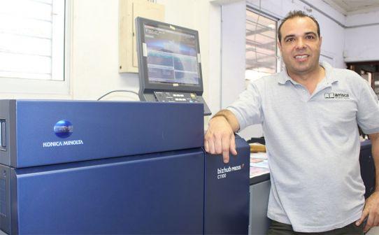 Arrisca Encadernações investe em equipamento Konica Minolta