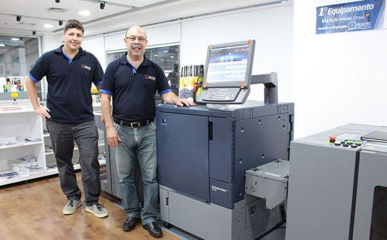 Promtec anuncia investimento na 1ª bizhub PRESS C71cf do Brasil